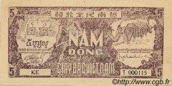 5 Dong VIET NAM  1948 P.017a SPL