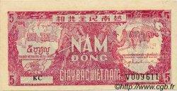 5 Dong VIET NAM  1948 P.017a SUP+