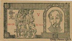 10 Dong VIET NAM  1948 P.020c SUP à SPL