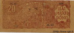 20 Dong VIET NAM  1948 P.025b TTB