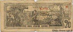 20 Dong VIET NAM  1948 P.026 B