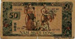 50 Dong VIET NAM  1948 P.027a B