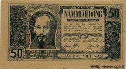 50 Dong VIET NAM  1948 P.027a TTB