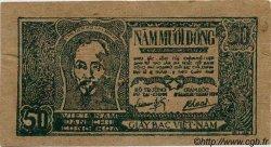 50 Dong VIET NAM  1948 P.027b SUP+