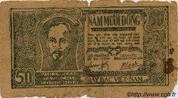 50 Dong VIET NAM  1948 P.027c B