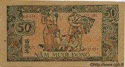 50 Dong VIET NAM  1948 P.027c TTB