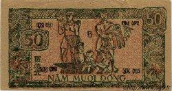 50 Dong VIET NAM  1948 P.027c SUP