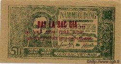 50 Dong VIET NAM  1948 P.027c (?) TTB