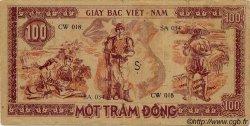 100 Dong VIET NAM  1948 P.028a TTB