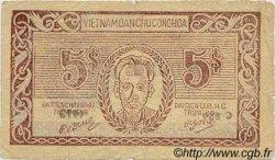 5 Dong VIET NAM  1949 P.046a B à TB
