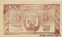 5 Dong VIET NAM  1949 P.046a TTB+