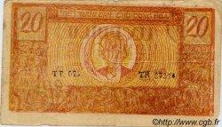 20 Dong VIET NAM  1948 P.049a TB+
