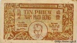 50 Dong VIET NAM  1949 P.051a TTB