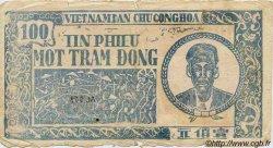 100 Dong VIET NAM  1950 P.054a AB