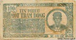 100 Dong VIET NAM  1950 P.054a TB