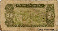 20 Dong VIET NAM  1951 P.060b B
