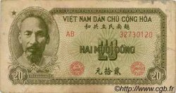 20 Dong VIET NAM  1951 P.060b TB