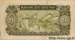 20 Dong VIET NAM  1951 P.060b TTB