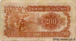 200 Dong VIET NAM  1951 P.063a pr.TB