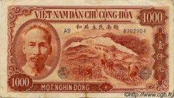 1000 Dong VIET NAM  1951 P.065a TB à TTB