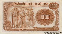 1000 Dong VIET NAM  1951 P.065a TTB+