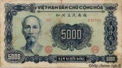 5000 Dong VIET NAM  1953 P.066a TB+ à TTB