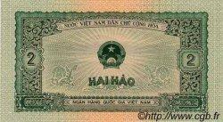 2 Hao VIET NAM  1958 P.069a NEUF