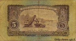 5 Dong VIET NAM  1958 P.073a TB