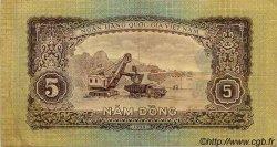 5 Dong VIET NAM  1958 P.073a TTB+