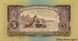 5 Dong VIET NAM  1958 P.073a SUP