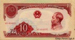 10 Dong VIET NAM  1958 P.074a TTB+