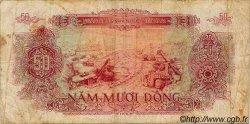 50 Dong VIET NAM  1976 P.084a pr.TB