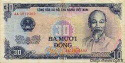 30 Dong VIET NAM  1985 P.095a TB+
