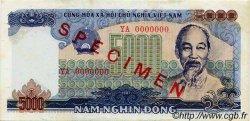5000 Dong VIET NAM  1987 P.104s SPL