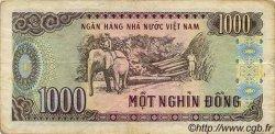 1000 Dong VIET NAM  1988 P.106a B à TB