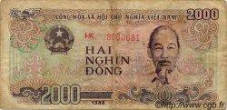 2000 Dong VIET NAM  1988 P.107a TB à TTB