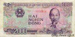 2000 Dong VIET NAM  1988 P.107a TTB