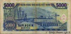 5000 Dong VIET NAM  1991 P.108a TB à TTB