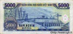 5000 Dong VIET NAM  1991 P.108a TTB