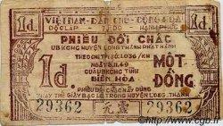 1 Dong VIET NAM  1960 P.-- TB