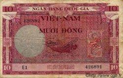 10 Dong VIET NAM SUD  1955 P.003a TTB