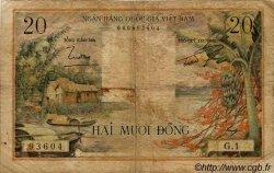 20 Dong VIET NAM SUD  1956 P.004a pr.TB