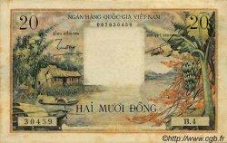 20 Dong VIET NAM SUD  1956 P.004a TTB