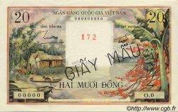20 Dong VIET NAM SUD  1956 P.004s pr.NEUF