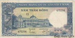 500 Dong VIET NAM SUD  1962 P.006Aa TTB