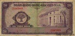 200 Dong VIET NAM SUD  1958 P.009a TB
