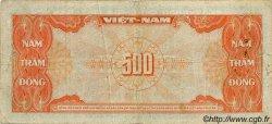 500 Dong VIET NAM SUD  1955 P.010a TB