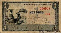 1 Dong VIET NAM SUD  1955 P.011a TB
