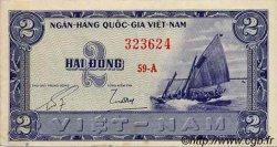 2 Dong VIET NAM SUD  1955 P.12a TTB