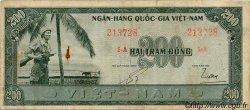 200 Dong VIET NAM SUD  1955 P.14a TB à TTB